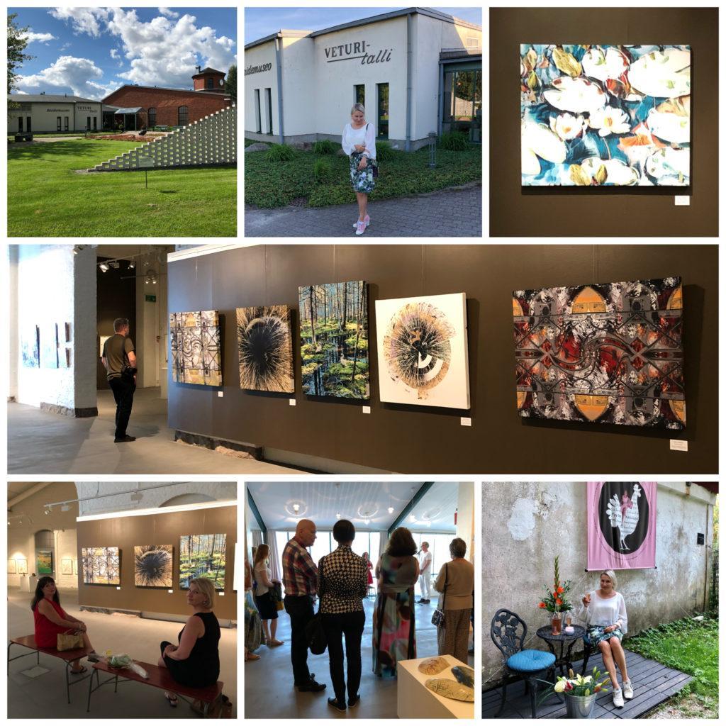 Salon Taiteilijaseuran näyttely Salon taidemuseo Veturitallissa on avattu!